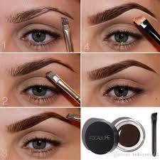 focallure eyebrow gel durable eyebrow pomade gel waterproof maquiagem makeup accessories eyebrow pomade gel eyebrow filler eyebrow mascara from kidtoysworld