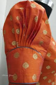 Saree Blouse Sleeve Designs 2018 Puff Sleeves Fancy Blouse Designs Stylish Blouse Design