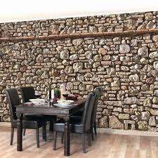 Esszimmer Wandgestaltung Stein Wandgestaltung Backstein
