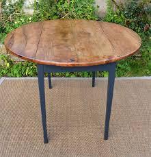 Table Ronde Pour Cuisine Plateau En Bois Naturel Meble Table