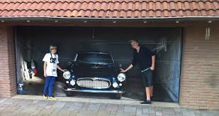 Elegant garage door decals ideas with classic cars garage door stickers