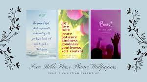 We created 50 custom christian desktop wallpaper designs to brighten up your computer and inspire you throughout the day. Download Free Bible Verse Phone Wallpapers Now Gentle Christian Parenting