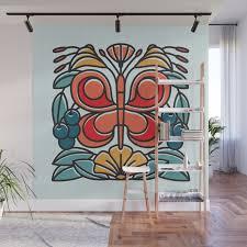 erfly tile wall mural