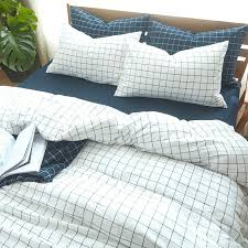 red and blue bedding cotton bedding sets geometric plaid soft bed lining king queen twin red blue duvet red and blue baby boy crib bedding