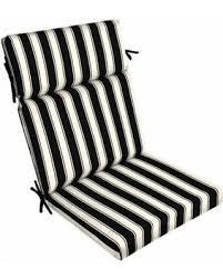 better homes and gardens outdoor cushions. Better Homes And Gardens Outdoor Patio Dining Chair Cushion, Black White Stripe Cushions H