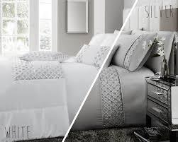 darcy embellished sequin duvet set