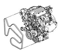 2006 chevy i need a serpentine belt diagram lt impala