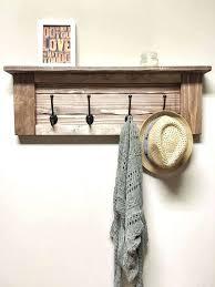 wood and metal coat rack rustic wooden entryway walnut coat rack rustic wooden shelf ideas of wood and metal coat rack