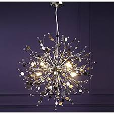 pendant lighting ceiling lights fixtures. gdns 8 pcs lights chandeliers firework led light stainless steel crystal pendant lighting ceiling fixtures