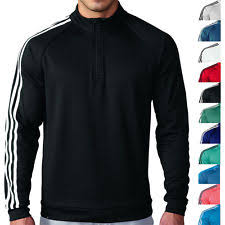 adidas quarter zip. adidas golf 3 stripes 1/4 zip pullover mens 11 colors quarter