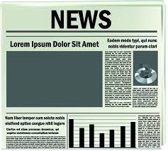 Creative Newspaper Template Newspaper Template Photoshop Nuvee Me