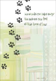 sympathy card pet pet sympathy card pu407