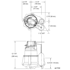 wiring diagram for zoeller sump pump wiring image zoeller m98 flow mate 1 2 hp cast iron submersible sump pump w on wiring diagram