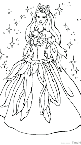 Barbie Coloring Pages Free Printable Staggering To Print Princess