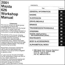 2001 mazda 626 repair shop manual original mazda wiring diagram color codes at 1990 Mazda 626 Wiring Diagram