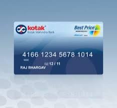 Credit 3 In Online Apply Steps Easy Kotak At - Bank Card