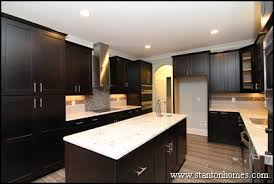 dark kitchen cabinets. Easy Dark Kitchen Cabinets With Light Granite For Interior Home Addition Ideas A
