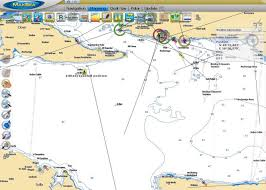 Maxsea Electronic Chart Display Showing Vessels Edited
