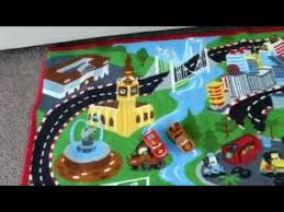 disney pixar cars game rug stop motion animation cars lightning mcqueen and mater by ftc