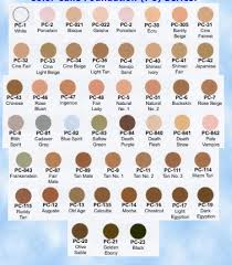 Ben Nye Color Chart Ben Nye Cake Foundation Color Chart 2019