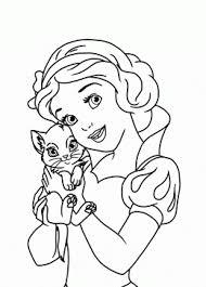 Disney Princess Coloring Pages Free Printable Disney Princess