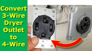 how to convert 3 wire dryer electrical outlet to 4 wire how to convert 3 wire dryer electrical outlet to 4 wire