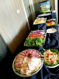 Deli bar - Build your own sandwich #scc #sccgolf #buffet #lunch #