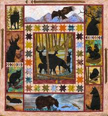 From the Wild-love this...pinning so I don't forget it again ... & From the Wild Quilt Pattern by Log Cabin Quiltworks Adamdwight.com