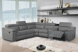 Leather Power Sectional sofa Lovely Awesome Great Charcoal Grey