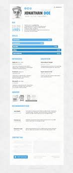 resume template creative online cv for web graphic designer  85 amazing how to make resume one page template