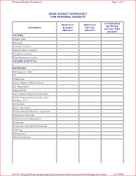 Budget Tracker Template Budget Planner Home Spreadsheet Free With Downloadable Templates