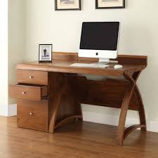 office desk walnut. Image Of The Jual Curve PC602-1300-WAL Large Office Desk In Walnut