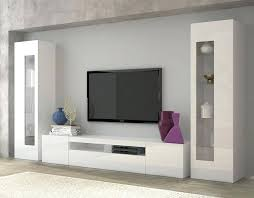 wall tv cabinet room contemporary furniture units vanity with attractive daiquiri high gloss white unit living stand design