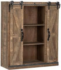 winado 32 rustic wooden wall mounted