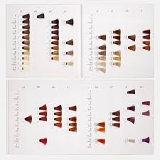 Yunsey Color Chart Natural Hair Colors Chart Best 25 Wella Hair Color Chart
