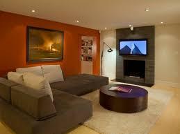 Of Living Room Paint Colors Living Room Brown Orange Living Room Empty Interior Blank Frame