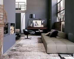 Gray Black Living Room