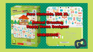 3ds Xl Happy Home Designer Bundle New 3ds Xl Animal Crossing Happy Home Designer Edition