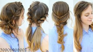 20 Ideas For Fun Easy Hairstyles Home Inspiration And Diy Crafts Ideas