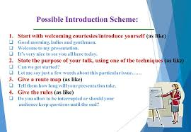 definition of presentation presentations are brief discussions of  8 possible introduction