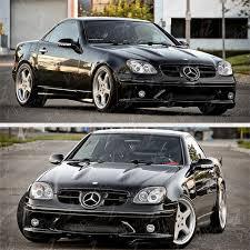 1998-2004 Mercedes Benz R170 SLK230 SLK320 SLK32 AMG Black ...