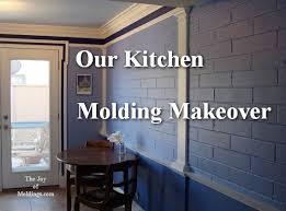 kitchen moldings: kitchen molding renovation our kitchen molding makeover text kitchen molding renovation