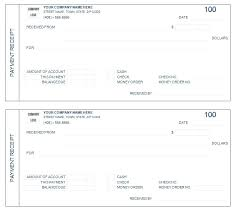 Sample Payment Receipt Form Of Cash Free Templates Naveshop Co