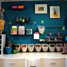 arts crafts home office. craft room home office combine pegboard with ikea kitchen organization and framed art for a arts crafts o