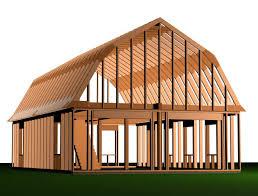 Gambrel Barn Designs And PlansGambrel Roof Plans