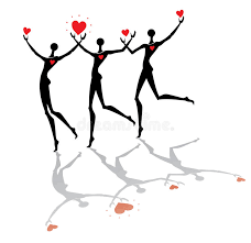 Image result for running hearts
