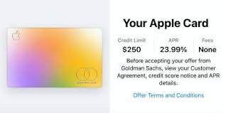 Apple Card Surprises Applicants By Offering Credit To