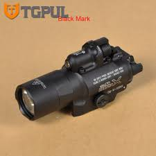Best Tactical Pistol Light Us 77 37 47 Off Tgpul Best Sf X400u Ultra Led Flashlight Tactical Light Weapon Handgun Light With Red Laser Sight For Pistol For Hunting In Weapon