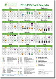2018 19 Ousd School Year Calendars Now Available Online