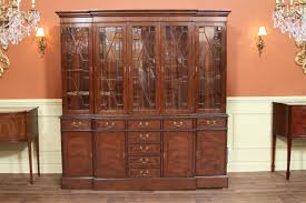 High End China Cabinets Traditional High End Mahogany China Cabinet